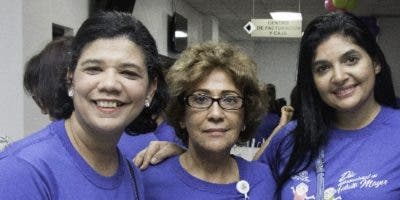 Fresa Fernández,  Josefina Nuesi y   Lidia Acosta.
