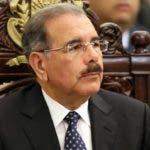 Presidente  Danilo Medina dijo que  es preciso poner fin a la violencia contra la mujer.  AGENCIA