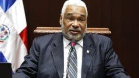 Radhamés Camacho es  el presidente de la Cámara de Diputados hasta   2019.   Archivo
