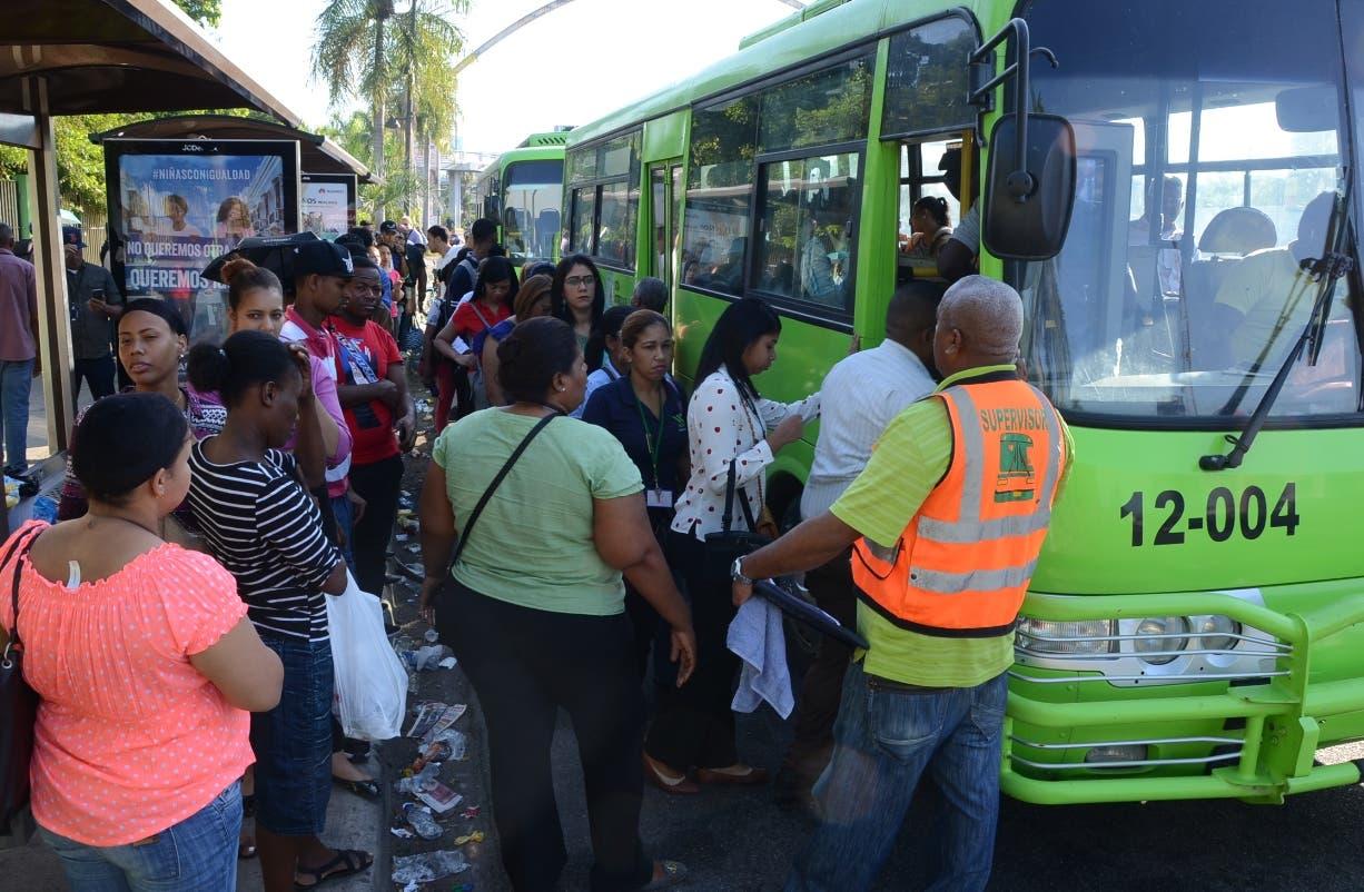 Gran parte de los pasajeros en la 27 de Febrero fueron asitidos por la OMSA. José de León