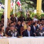 El acto de graduación fue encabezado por el presidente Danilo Medina.