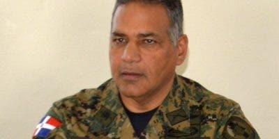 Ministro de Defenza Rubén Paulino Sem. Foto de archivo.