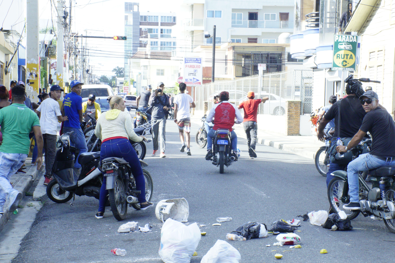 17. Comenzaron a realizar protestas tras conocer condenas