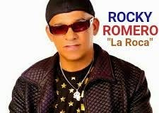 El cantante de bachata Rocky Romero (La Roca)