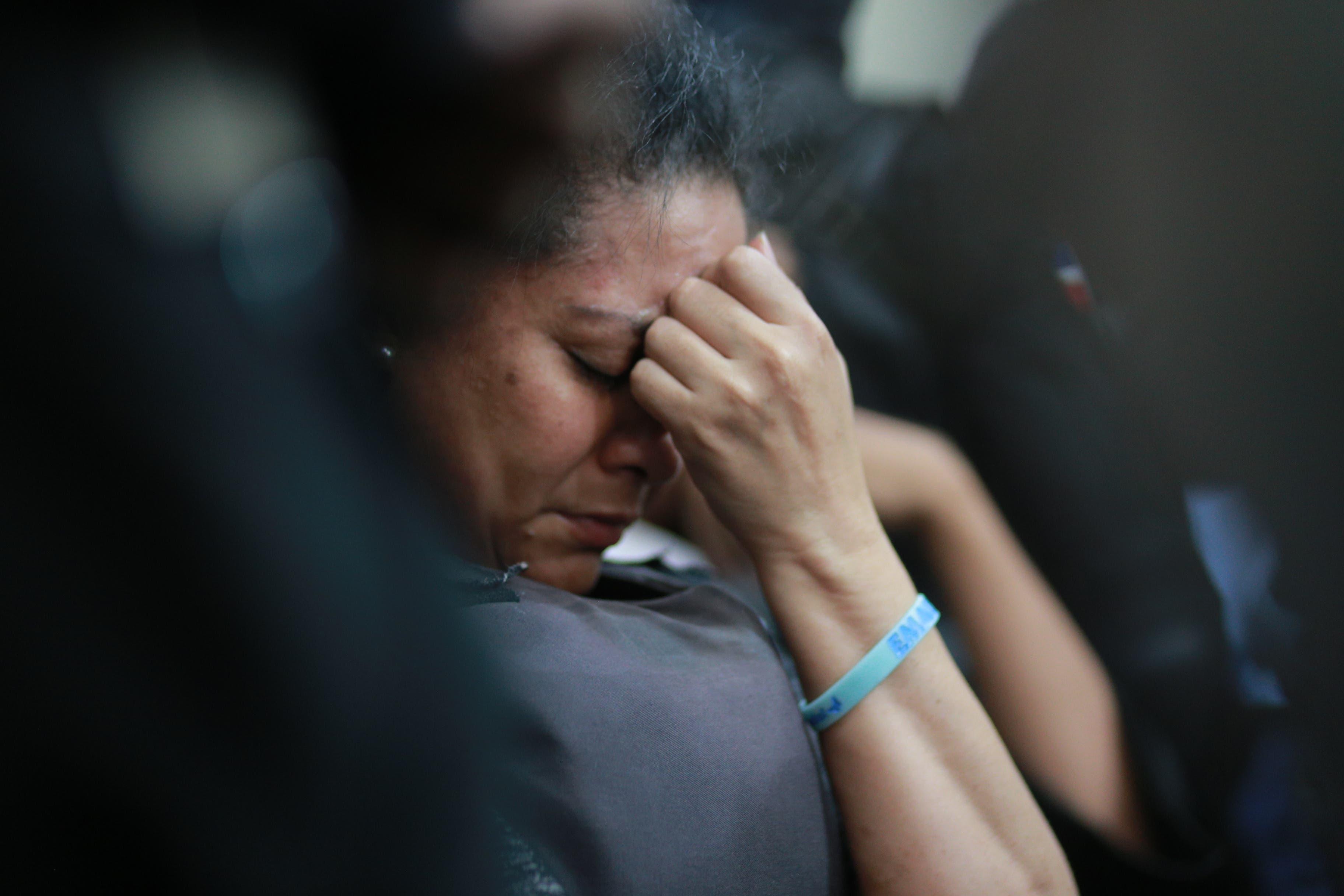 10. Marlin lloraba durante lectura de sentencia.