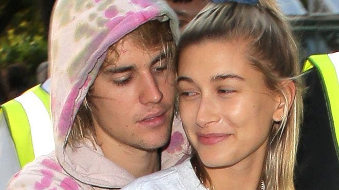 Justin Bieber y Hailey Baldwin quienes anunciaron su matrimonio este fin de semana.