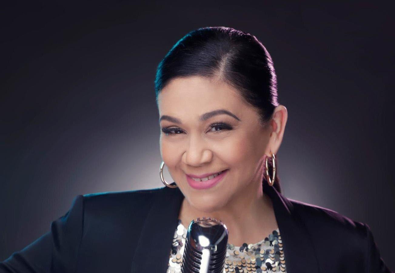 La artista Maridalia Hernández.