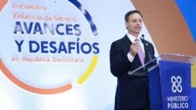 El procurador Jean Rodríguez el procurador Jean Rodríguez presentó los avances del Plan Nacional Contra la Violencia de Género en su primer año de implementación, rindiendo cuentas y explicando las ejecutorias del Plan durante este año.