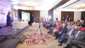 Secretaria general de la Organizacion Iberoamericana de Seguridad Social (OISS), Gina Magnolia