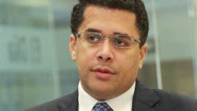 David Collado, alcalde del   Distrito Nacional