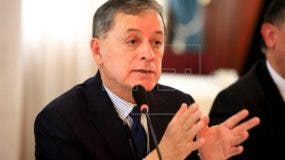 Santiago Chávez, viceministro de Movilidad Humana de Ecuador.  Foto de archivo.
