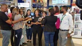 Anina Del Castillo habló en rueda  de prensa