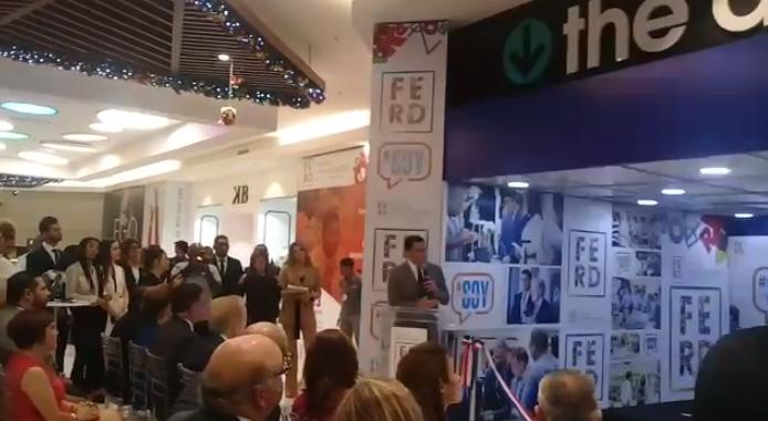 David Collado, preside Feria de Emprendedores de República Dominicana 2018.