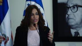 Silvia García, diputada al Parlacen.