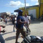 El incidente se produjo del lado haitiano de la frontera.