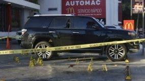 El tiroteo se produjo en McDonalds de la avenida Abraham Lincoln.