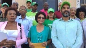 Marcha Verde deposita querella en la Fiscalía.