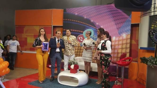 Ángel Puello es reconocido nuevamente en televisión
