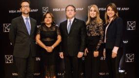 Jorge Lemos, Nurys Marte, Gustavo Ariza, Alina Victorio y Sofía Antor.
