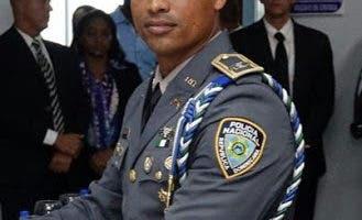 teniente coronel de la Policía, Emilio Corcino Galván