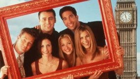 La serie de TV 'Friends' se grabó entre 1994 y 2004.