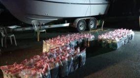 Uno de los  alijos se ocupó   embarcación   venezolana.  Archivo.