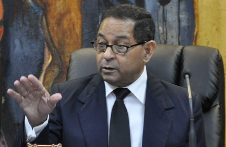 Presidente  Poder Judicial,  Mariano Germán Mejía. ARCHIVO.