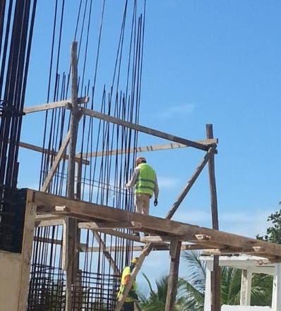 La construcción Le Parc Beach Front está en Juan Dolio.