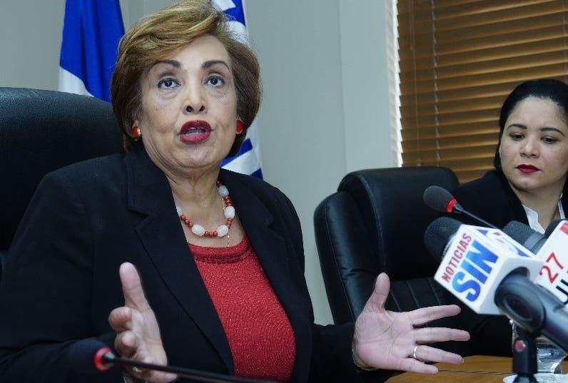 Nélsida Marmolejos, titular  de la DIDA.  Elieser Tapia.