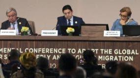 Algunos países, como China, adoptarán el Pacto Migratorio  de acuerdo con sus condiciones propias. La Cumbre finalizó ayer.