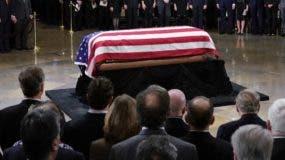 El país rinde los honores de Estado a George H.W. Bush.