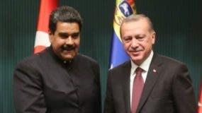 Recep Tayyip Erdogan en visita oficial a Venezuela.