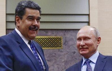 Putin y Maduro en Rusia.