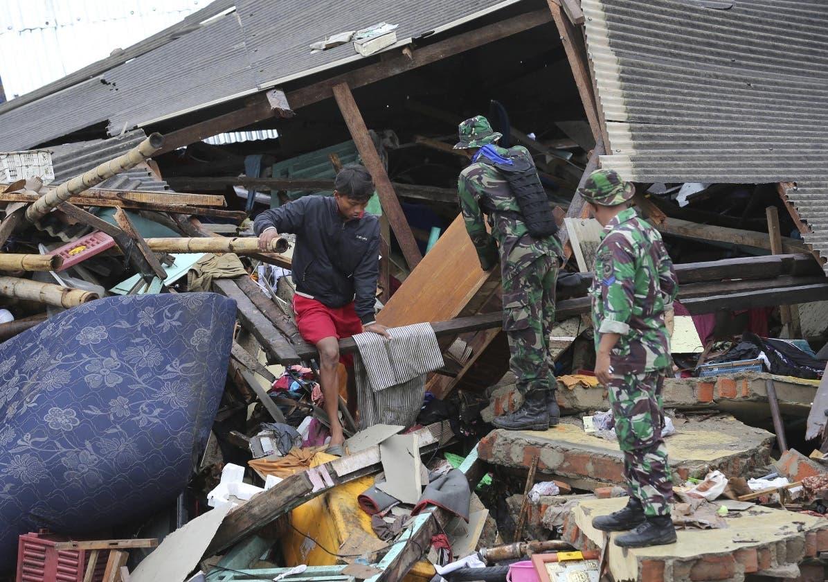 Las autoridades reportaron  154 personas desaparecidas a causa del desastre.