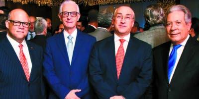 Eduardo Grullón, Henry Sadhalá, Mario Lama y Rafael Blanco Canto.