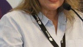 María Elvira Domínguez, presidenta de la SIP.  archivo
