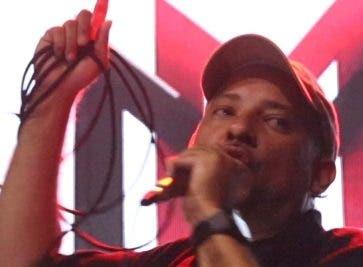 Mauricio Fabián durante la actividad.