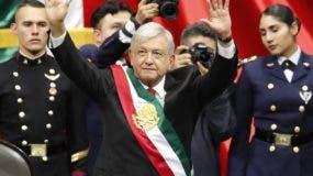 Andrés Manuel López Obrador asumió la presidencia de México en un acto del sábado pasado.