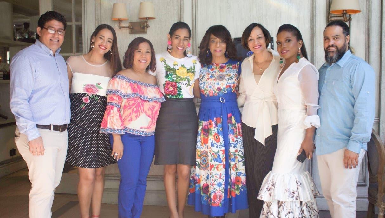 Belmont Sepúlveda, Wanda Sánchez, Zoila Puello, Rosa Arredondo, Fanny Santana, Lady Reyes, Giselle Castro y Reynol Sepúlveda.