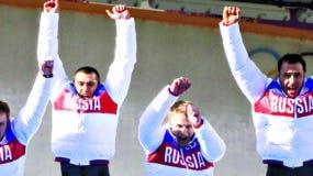 Una gran cantidad de atletas rusos están suspendidos.