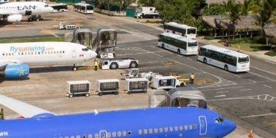 Terminal del aeropuerto de Punta Cana.   Fuente Externa