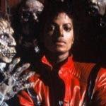 """Michael Jackson en el video del éxito """"Thriller""""."""
