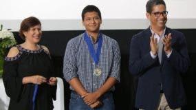 Avelina Henríquez, Fernando Valerio del Valle y Augusto Ramírez.