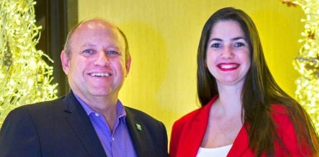 Ricardo Kawa y Virginia Gómez.