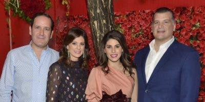 José Antonio Álvarez Hijo, Cecilia Carballo, Sarah de Moya  y Aldo Bonarelli.