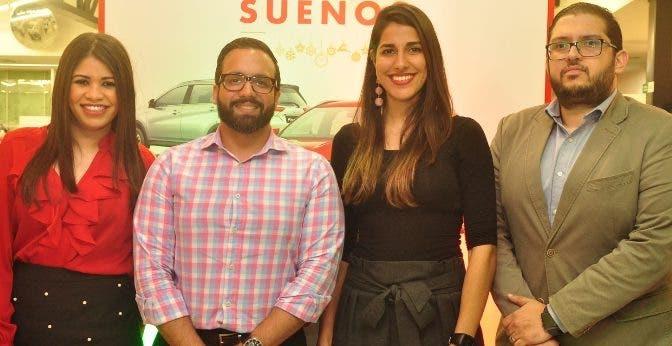 Massiel Reyes, Julio Rafael Curiel y Rafael Mejía.