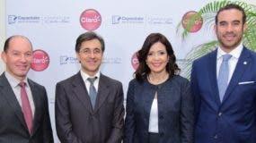Omar Acosta, Darwin Caraballo, Gerty Valerio y Frank Rodríguez.