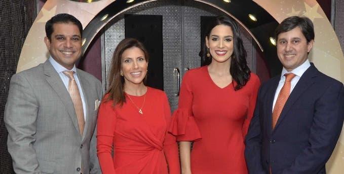 José Enrique Valdez,   Claudia Giraldi, Laura Pérez Rojas y Raymond Marcelino.