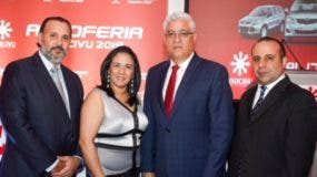 Darío Muñoz, Marlenny Contreras, Silvestre Aybar y Gustavo Domingo.