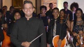 Orquesta Sinfónica Juvenil de San Pedro de Macorís.